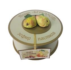 """Пастильный торт """"Бергамот"""" с шоколадом и орехами - фото 5086"""