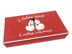 """""""Снеговики"""". Подарочный набор, музыкальная коробка. - фото 5107"""